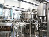炭酸飲料のガラスビンの満ちる製造プラント