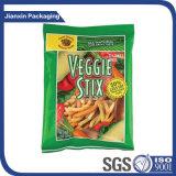 Bolso plástico impreso diseño modificado para requisitos particulares del acondicionamiento de los alimentos