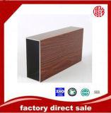 Profilo di legno del grano dell'espulsione di alluminio per la finestra ed il portello