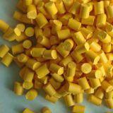 Masterbatch de plástico de color amarillo para PP PE PVC Extrution