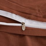 Il coperchio poco costoso del Duvet dell'assestamento di Microfiber della tessile domestica misura l'insieme dello strato