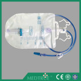 CE/ISO de goedgekeurde DwarsZak van de Urine van de Klep 2000ml met Hanger (MT58043204)