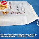 Riz promotionnel de la Chine, farine, sucre, maïs, sac tissé par pp de soja