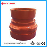 Knötenförmiges Eisen-Grooved T-Stück heißes Galvaized mit FM/UL genehmigt