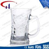150ml a gravé la tasse de l'eau en verre de silex de modèle (CHM8168)