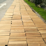 Alta calidad de madera maciza natural de madera de teca Suelos
