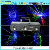 RGB 730MW Laser de feixe de cores mostram uma discoteca a China a luz do laser
