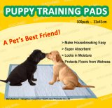 최고 흡수성 냄새 통제 강아지 애완 동물 소변 훈련 장 (PP3045)