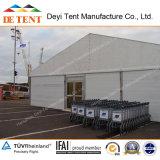 25m Width Warehouse Tent mit Rollen-oben Door