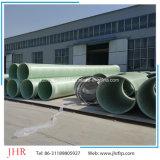 Tubo reforzado fibra de vidrio de FRP para el tratamiento de aguas residuales