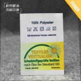 Etiqueta impressa de seda de alta qualidade e personalizada Selo impresso