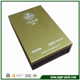 Diseño de la caja de embalaje personalizado vino caja de madera