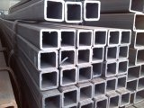 Tubo galvanizado del cuadrado del acero de carbón del tubo para el material de construcción del metal
