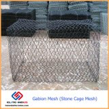 Maaswijdte 60*80mm 80*100mm 80*120mm Gabin Mesh Stone Cage Mesh
