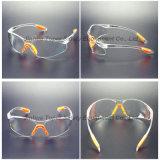 세륨 En166 승인 공간 PC 렌즈 안전 유리 (SG102)