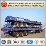 3-assen 40FT de Op zwaar werk berekende Hoge Semi Aanhangwagen van de Staak van de Zijwand