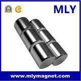 실린더 또는 막대 회전자 영원한 희토류 NdFeB 자석 네오디뮴 (MLY166)