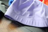 Natação elástica do poliéster que banha o chapéu do tampão da nadada