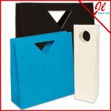Выдвиженческая многоразовая хозяйственная сумка бумаги Kraft, бумажный мешок подарка