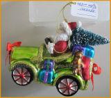 Бутик-Санта-Положение Рождество стекла судов