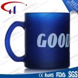 340ml青いカラー熱い販売法ガラス水マグ(CHM8124)