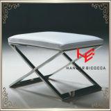 腰掛け(RS161802)のホテルの腰掛けの居間の腰掛けのバースツールのクッションの屋外の家具の店の腰掛けのレストランの家具のステンレス鋼の家具を保存しなさい