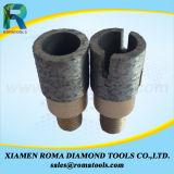 Herramientas que muelen de Romatools Diamong de los dígitos binarios del dedo para la perforación y las losas que muelen