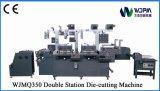 Machine de découpage d'étiquette de Double-Station