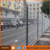 Frontière de sécurité soudée par 3D de treillis métallique d'Anping aménageant la frontière de sécurité européenne