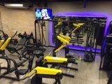 Machine de gymnastique de bâtiment du coffre Press/Tz-6062/Body/équipement de forme physique chargés par plat