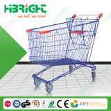 Порошковое покрытие супермаркет магазинов тележка (HBE-FS-240L)