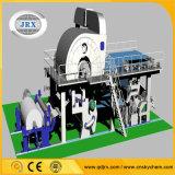 Profesionales de la pequeña escala de la máquina de papel de tejido / papel higiénico que hace la planta