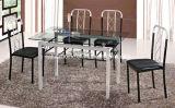 Mesa de vidrio y una silla (KTD81012)
