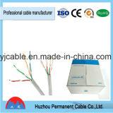 Câble LAN De la catégorie 5 4 paires de câble cuivre de ftp 24AWG Cat5e