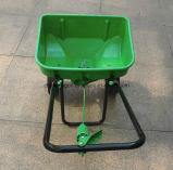 庭の手動放送肥料の拡散機
