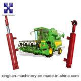 Doble efecto cromado vástago del pistón del cilindro hidráulico para el tractor