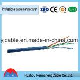 Câble LAN D'intérieur non protégé de la catégorie 5e 4p 24AWG 1000 ' UTP