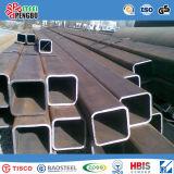 Tubo quadrato galvanizzato nero del acciaio al carbonio & caldo saldato & tubo rettangolare