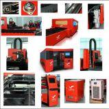 Machine de découpage de laser de fibre d'acier inoxydable pour le traitement de tôle