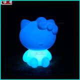 Cadeau de Noël Décoration Enfant Enfants Table Kitty Lamp Gift