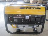 approbation de la CE 2500watts avec les générateurs de 6.7HP moteur essence (WH3500)