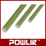 Haste de fibra de vidro para o isolador de resina