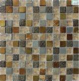 ガラス壁のタイルのための大理石の石造りのウォータージェットの円形浮彫り
