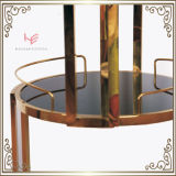 アルコール飲料のトロリー(RS150502)カートのトロリーステンレス鋼の家具