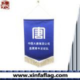 Двойник печатание цифров встал на сторону вымпелы, изготовленный на заказ знамя вымпела