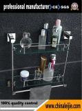De moderne Plank van het Glas van de Hardware van de Badkamers van het Ontwerp Dubbele