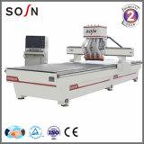 Router di CNC di falegnameria con 2 assi di rotazione per la fabbricazione della mobilia