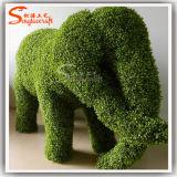 동물성 모양 플랜트 인공적인 회양목 장식 정원 잔디