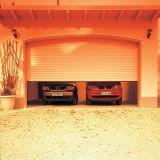 자동 차고 문을 위로 구르십시오
