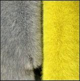 Faux-Kaninchen-Verzerrung-Pelz Spitzen-Entladen